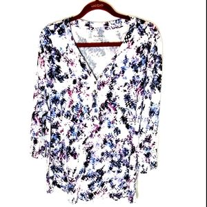 💥Relativity top size 2X floral